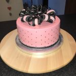 Pink Iced Cake