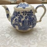 vintage tea pot china for rent