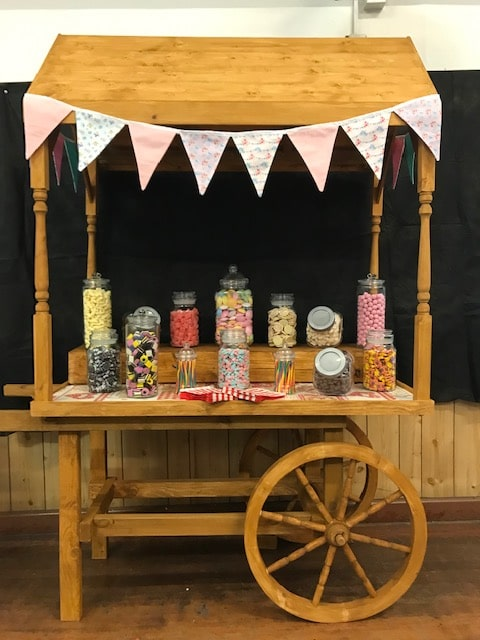candy cart for rent surrey